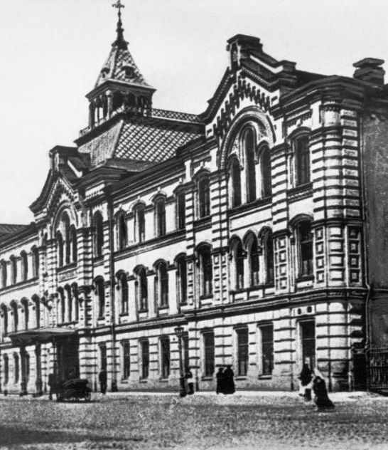 железнодорожное училище в